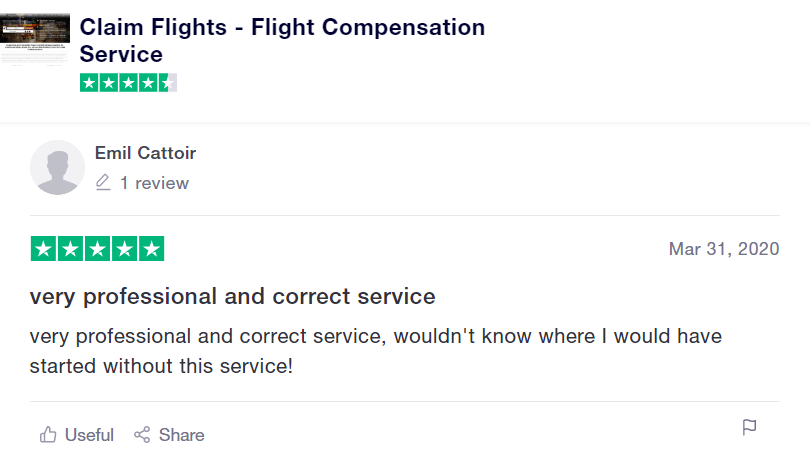 ClaimFlights review by Emil