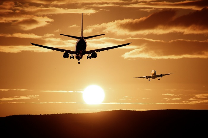 aircraft crossing